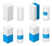 bottle läkarundersökningen stock illustrationer