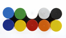 Bottle lids Royalty Free Stock Image