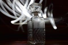 Bottle lightpen stock photo