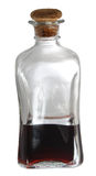 A bottle of liqueur Royalty Free Stock Photography