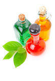 Bottle of liqueur / alcohol Royalty Free Stock Photo
