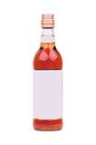 Bottle of liquor Royalty Free Stock Photos
