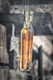 Bottle of the liquor Royalty Free Stock Images
