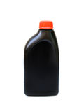 Bottle of lubricant for car isolated Stock Photos