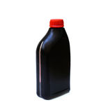 Bottle of lubricant for car isolated Stock Images