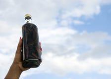 Bottle of Mamajuana Royalty Free Stock Photos