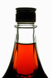 Bottle with maple syrup Royalty Free Stock Image