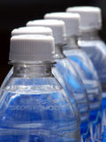Bottle Me. Cold bottled water at a county fair royalty free stock image