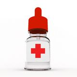 Bottle of medicine Royalty Free Stock Photography