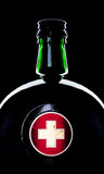 Bottle with medicine Royalty Free Stock Photo