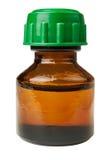 Bottle  medicine glass Stock Photo