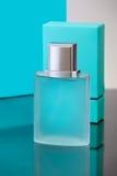 Bottle of men's cologne Stock Photo