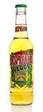 Bottle of Mexican Desperados Verde beer Stock Photography