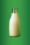 A bottle of milk Stock Images