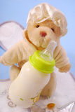 Bottle of milk for baby Royalty Free Stock Photos