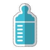 Bottle milk baby icon Royalty Free Stock Image