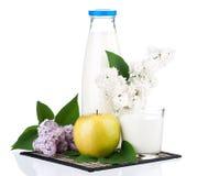 Bottle of milk Stock Photography