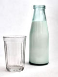 Bottle of milk Stock Images