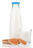 Bottle of milk Stock Photo