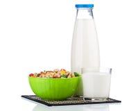 Bottle of milk Royalty Free Stock Photo
