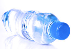 Bottle with mineral water Stock Image