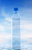 Bottle of mineral water Royalty Free Stock Photo