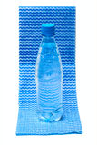 Bottle with mineral water Royalty Free Stock Photo