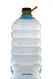 Bottle of mineral water Royalty Free Stock Photos