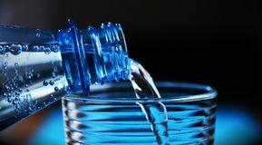 Bottle, Mineral Water Stock Image