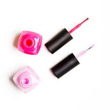 Bottle of nail polish Stock Images