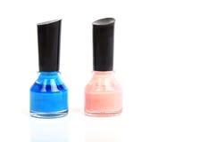 Bottle of nail polish Stock Photography
