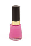 Bottle of nail varnish Royalty Free Stock Photography