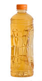 Bottle of natural apple juice Royalty Free Stock Photos