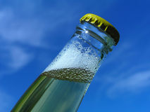 Bottle-neck. Against clear blue sky royalty free stock photography