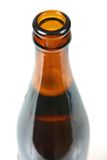 Bottle neck 2. Isolated image of the neck of a beer bottle Stock Image