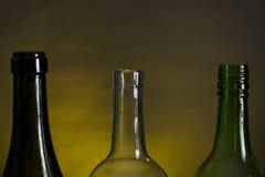 Bottle necks Stock Images