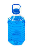 Bottle with non-freezing cleaning liquid Stock Photography