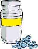 Bottle Of Medicinal Pills Stock Image