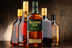 Free Bottle Of Tullamore Dew, Irish Whiskey Stock Photography - 74954262