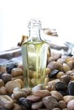 Bottle in oil Royalty Free Stock Images