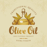 bottle oil olive 库存图片