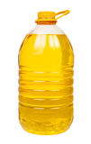 Bottle oil plastic big Royalty Free Stock Photos