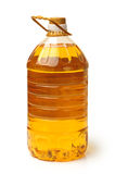 Bottle oil plastic Stock Images