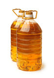 Bottle oil plastic Royalty Free Stock Images