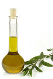 Bottle of olive oil Stock Photos