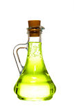 Bottle with a olive oil Royalty Free Stock Photos
