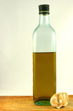 Bottle olive oil Stock Photo
