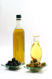 Bottle of olive oil Royalty Free Stock Photography