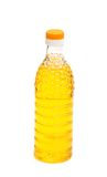 Bottle of olive oil isolated on the whie. Bottle of olive oil isolated  on the whie Stock Image