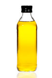 Bottle of olive oil isolated white background Royalty Free Stock Photo